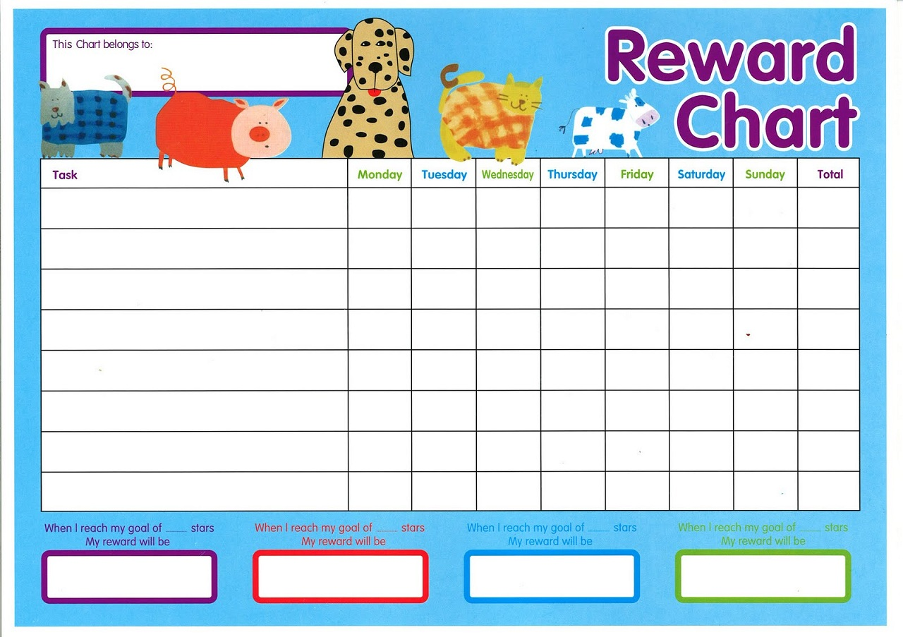 This is an image of Inventive Sticker Chart Templates