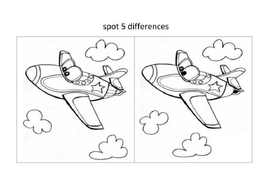 Free Printable Spot The Difference Worksheets : Spot the difference worksheets for kids activity shelter