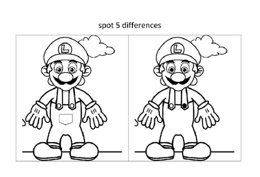 Spot The Difference Worksheets for Kids – Spot the Difference Worksheets for Kindergarten