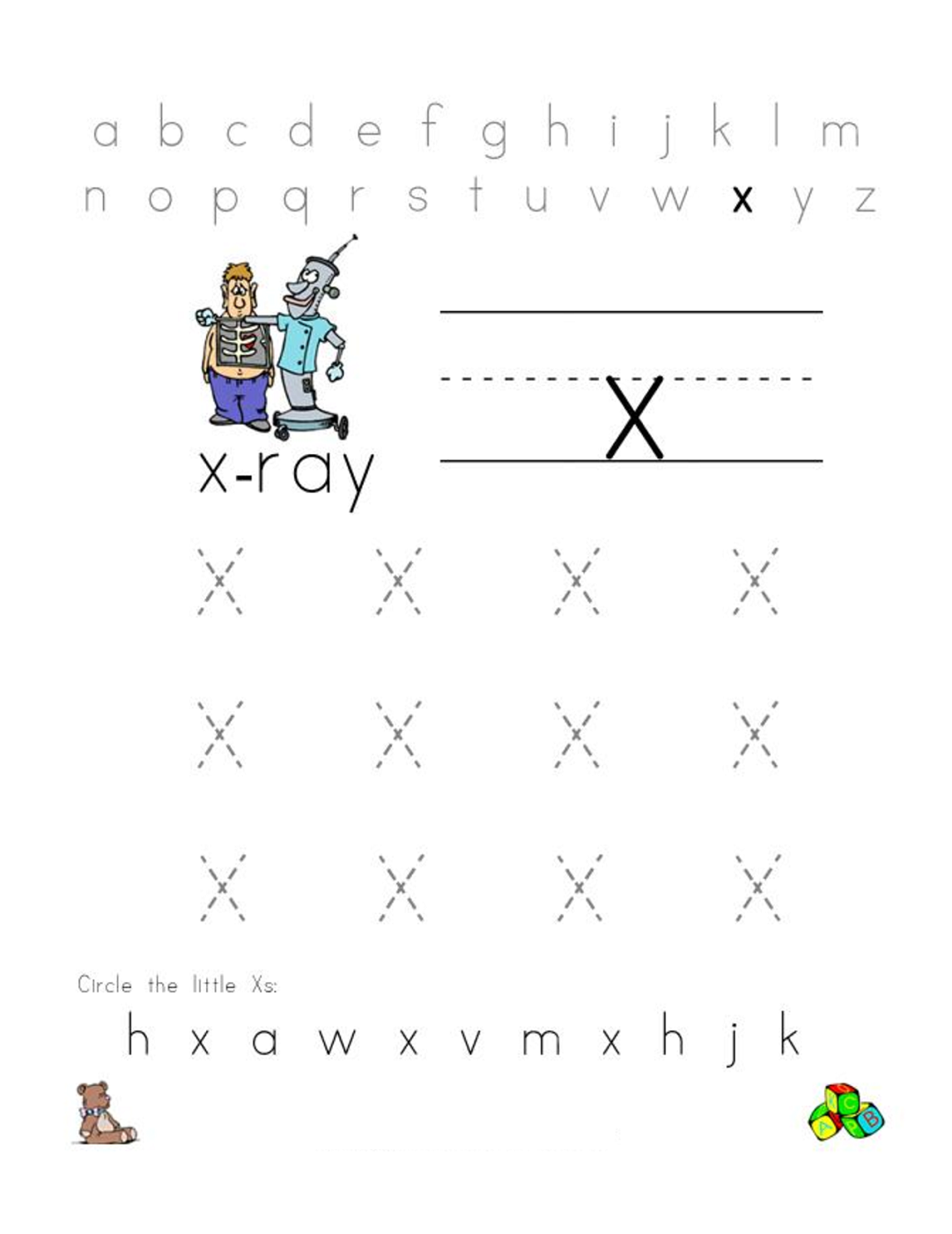 english-alphabet-worksheet-x-letters  X Alphabet Letters Template on for tracing, for kids, medium printable, free printable large,