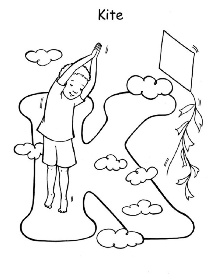 Yoga Coloring Pages to Print