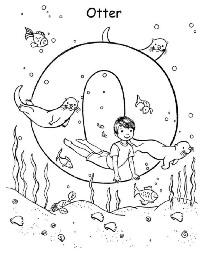 yoga coloring pages for kids - photo#4