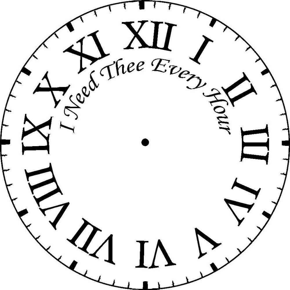 Printable Clock 2016