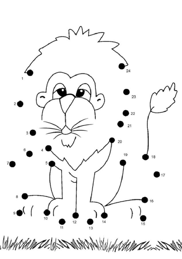 Dot to Dot Worksheet to Print | Activity Shelter