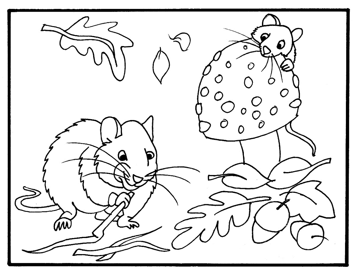 Fall color pages printable activity shelter for Fall coloring pages for toddlers