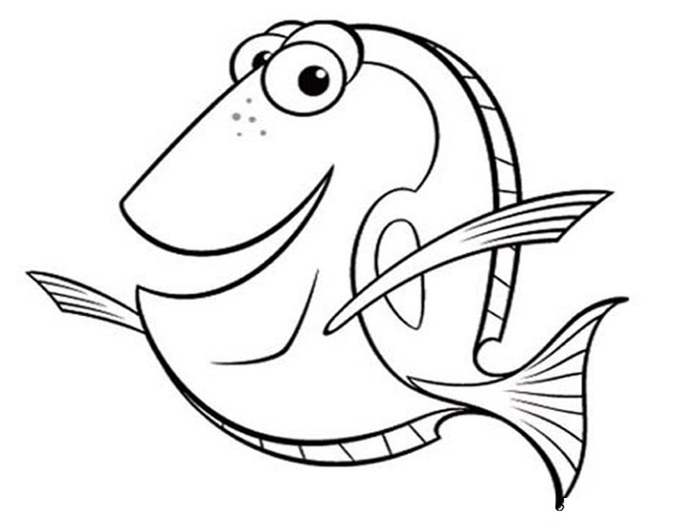 fish color page best