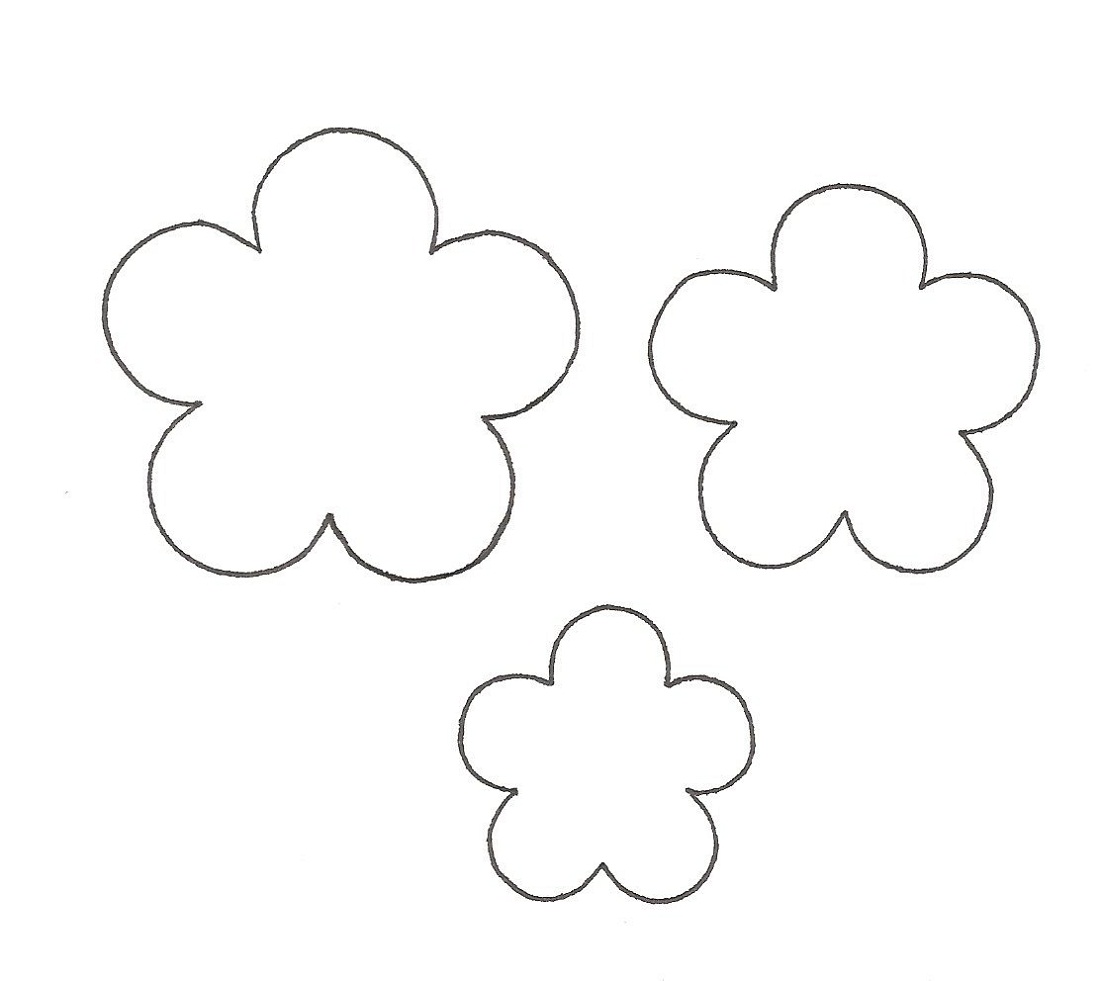 flower template three
