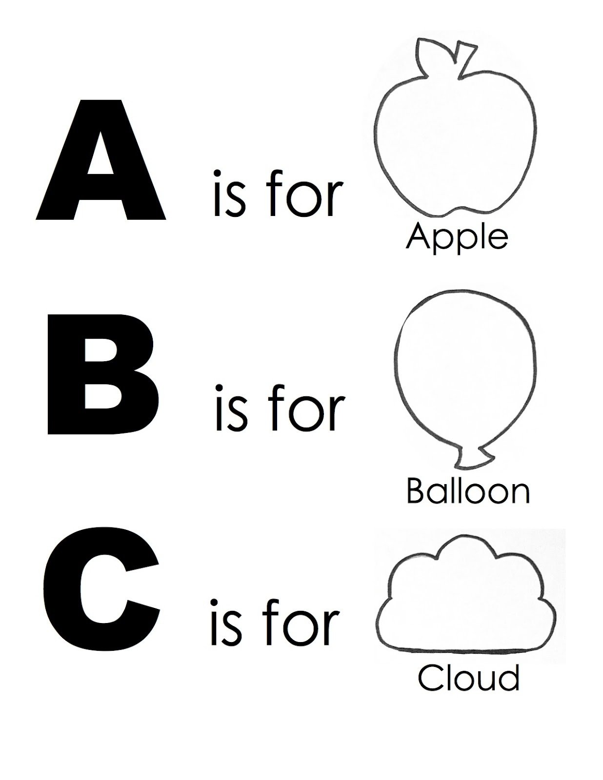 Simple Abc Worksheets : Free alphabet worksheets to print activity shelter