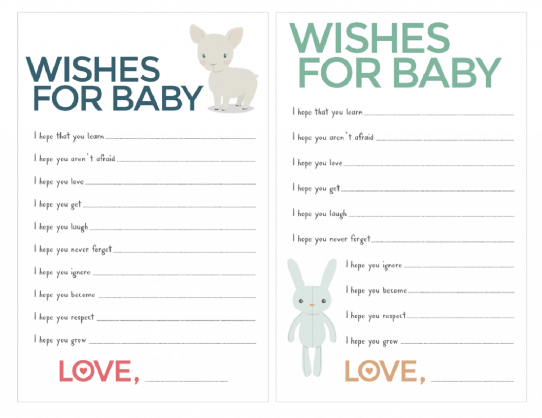Free Baby Shower Games Printouts | Activity Shelter