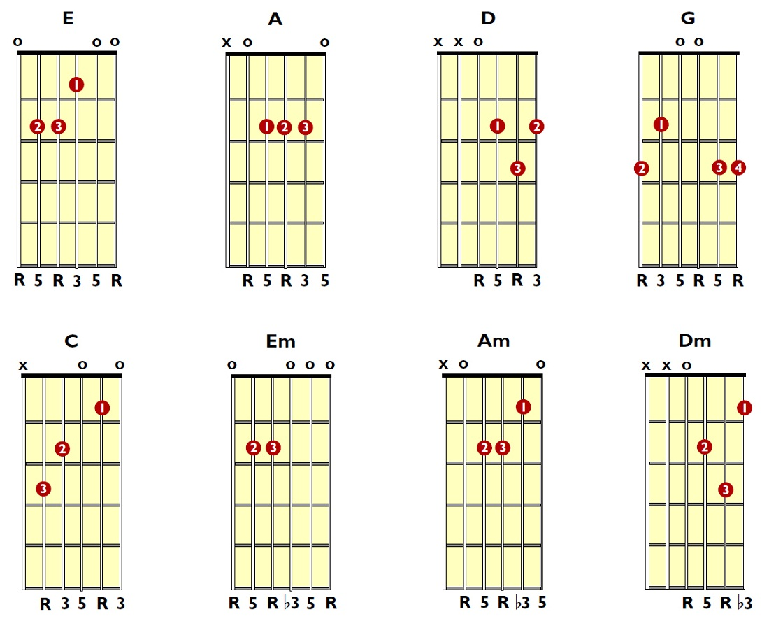 guitar chords new
