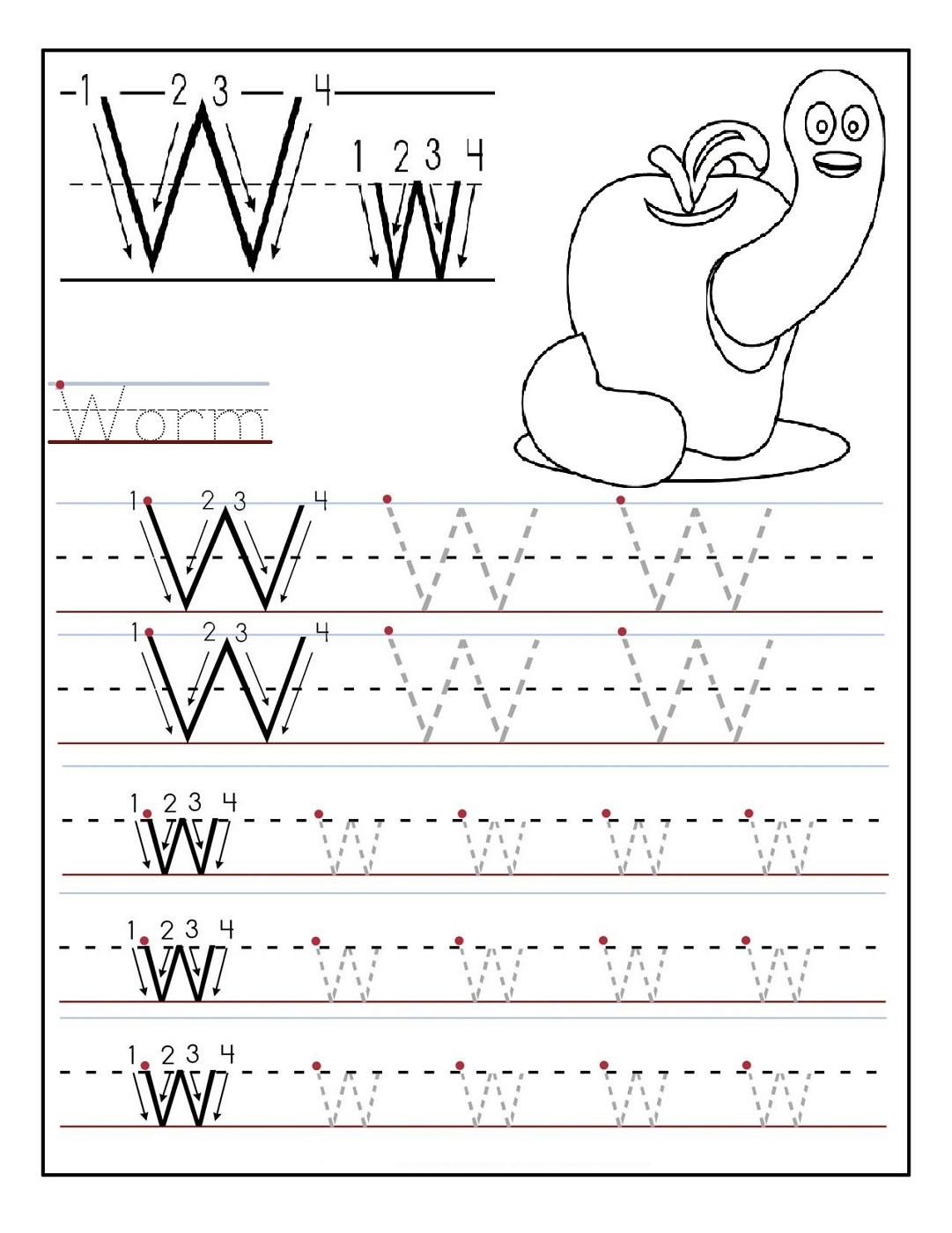 Kindergarten Letter Worksheets Free Worksheets Library | Download ...