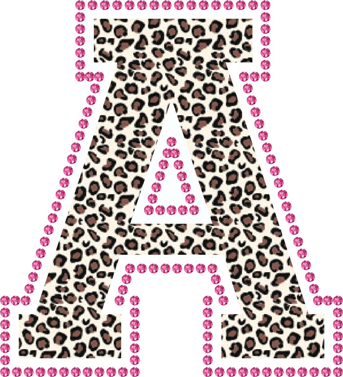 letter a printable colour