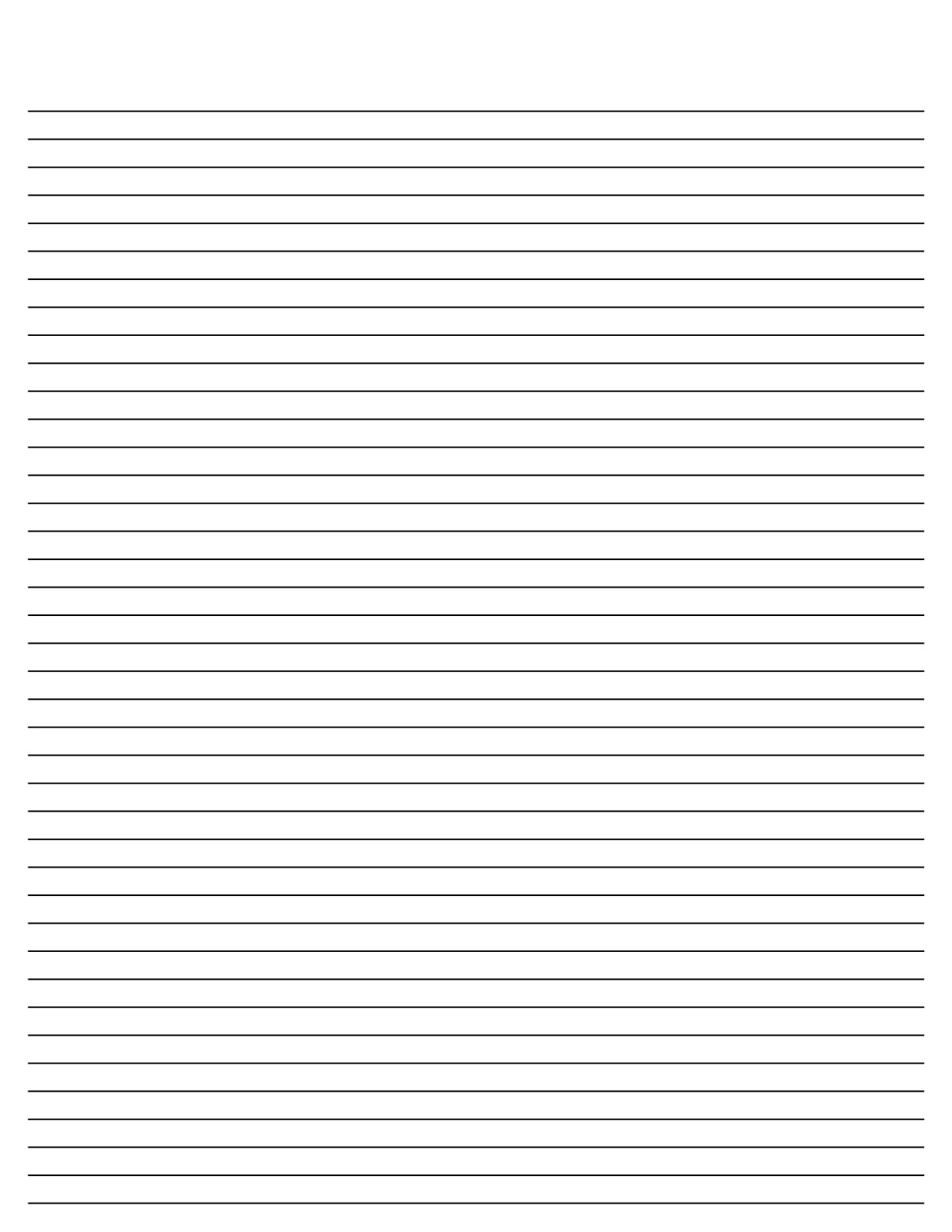 Beautiful Lined Paper For Writing Small Line Idea Lined Pages For Writing