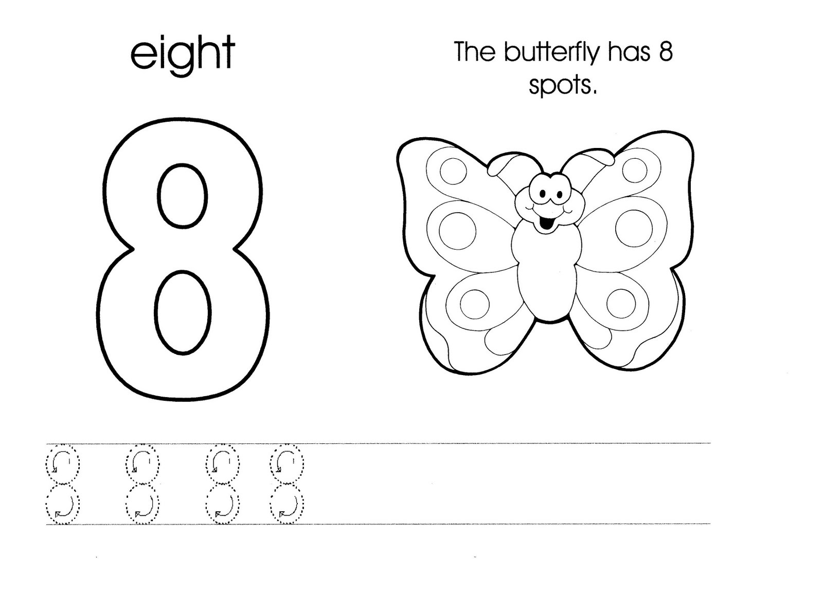 number 8 worksheet new