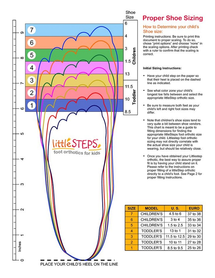 Nifty image with regard to printable shoe size chart