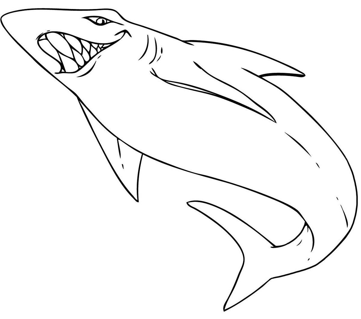 shark sheets for kids cute