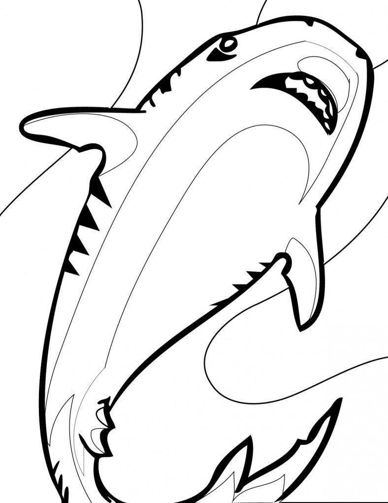shark sheets for kids free