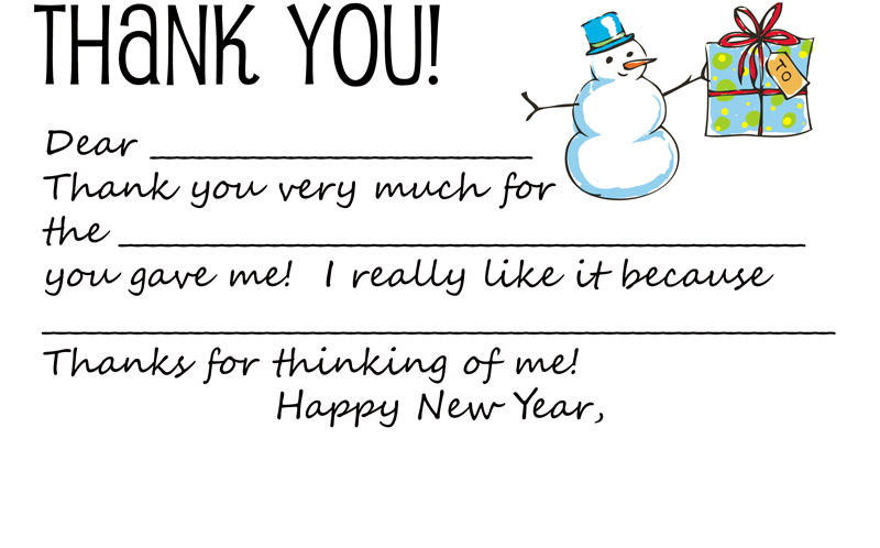 Thank You Notes Examples For Christmas Gifts Wedding Gifts – Thank You Note Sample