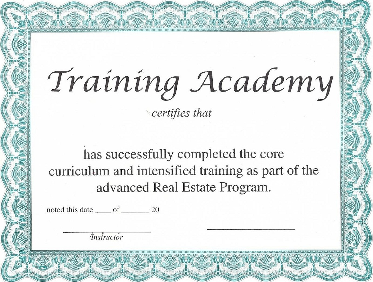 training certificate template free - blank certificate templates to print activity shelter