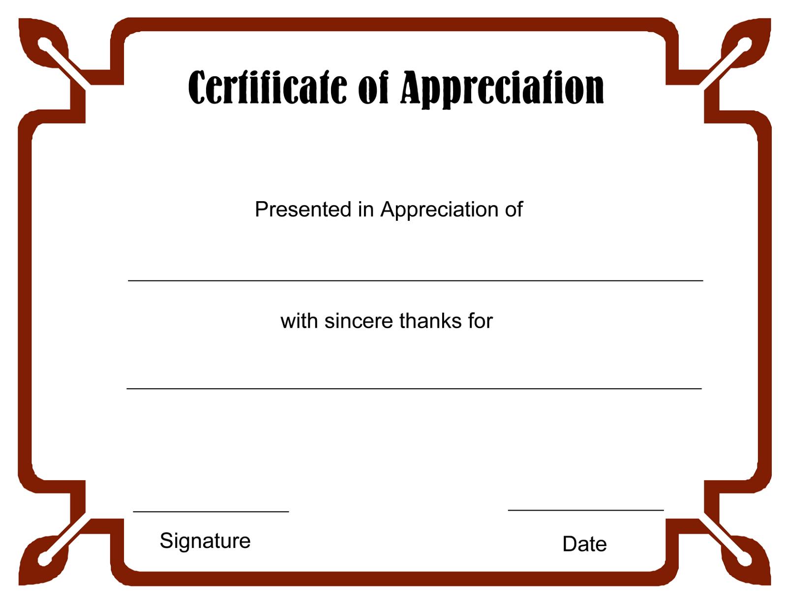 blank certificate templates best