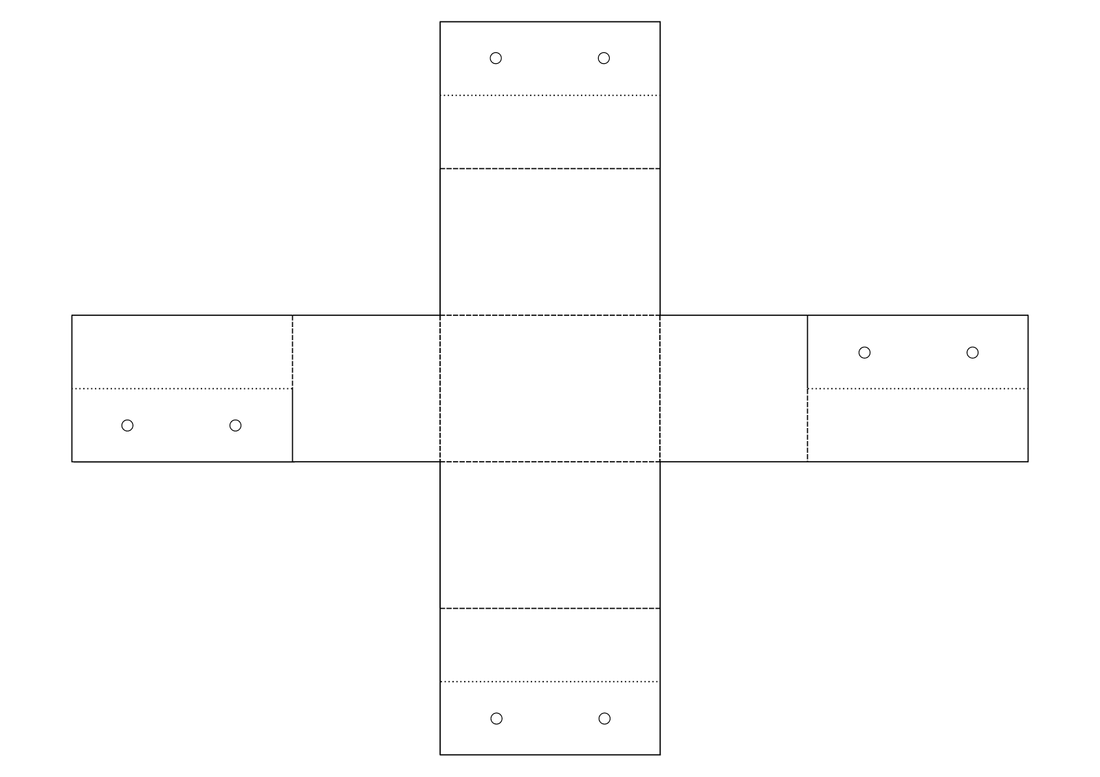 box template for print