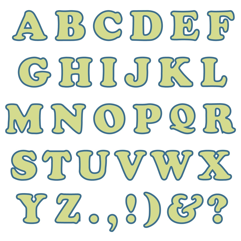capital alphabet letters 2016