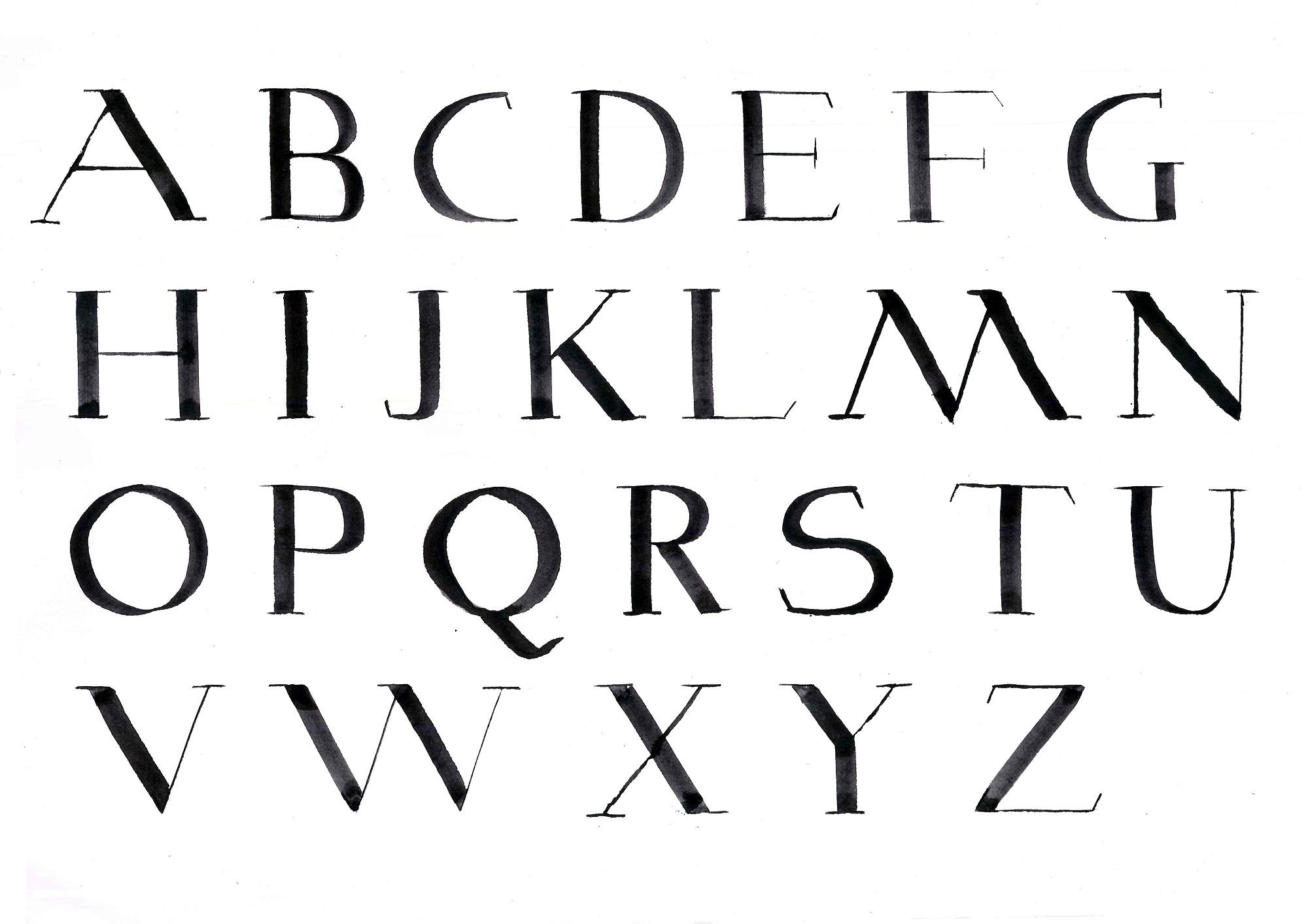 capital alphabet letters for kids