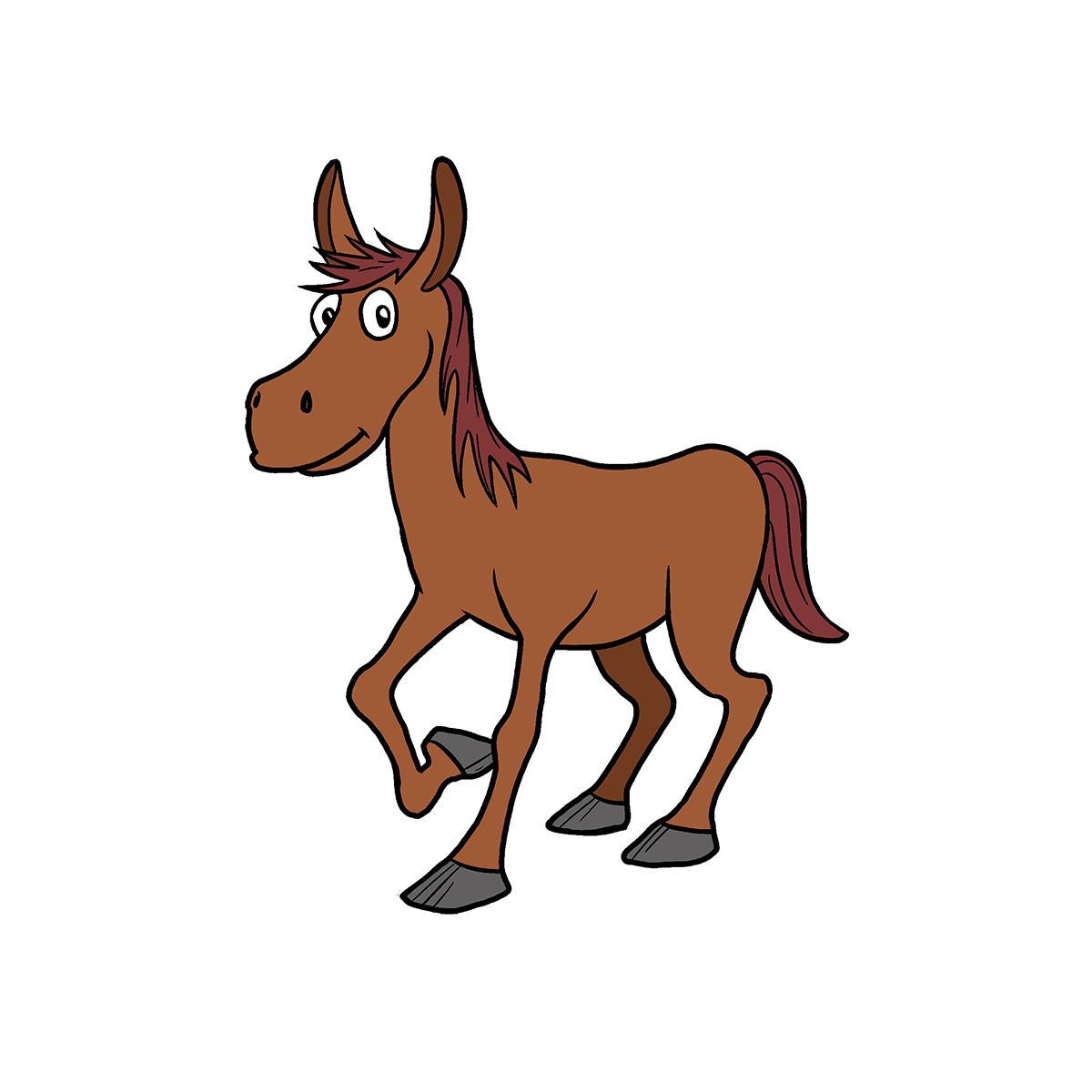 horse pictures for kids small