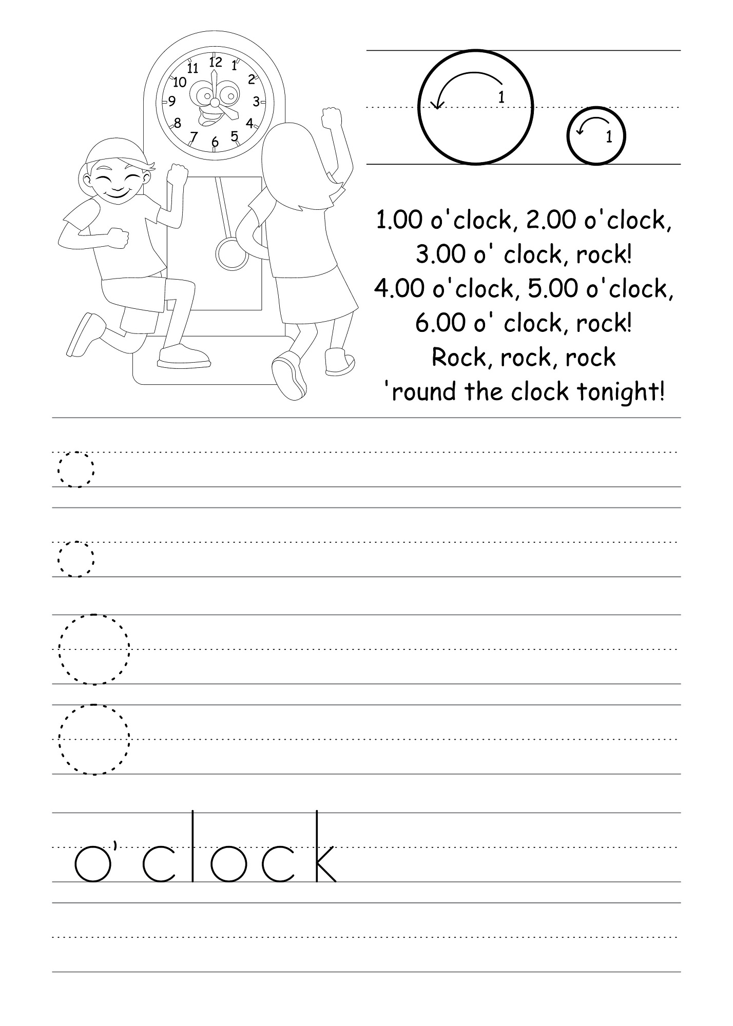 Letter O Worksheets for Preschool – Letter O Worksheet