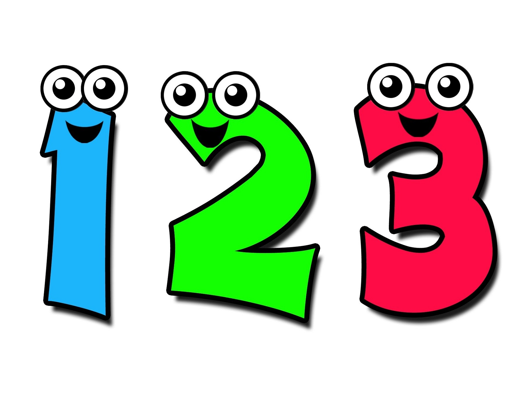 picture of numbers for kids