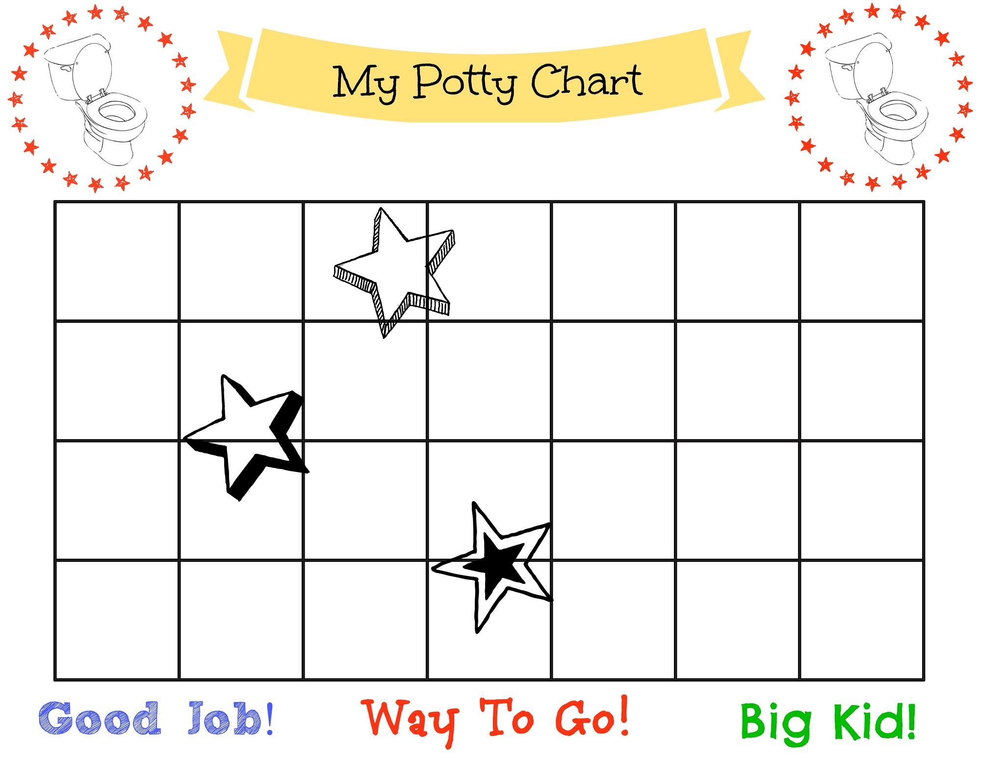 potty chart free
