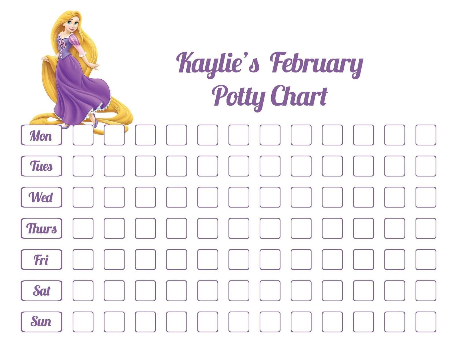 potty charts for children activity shelter potty chart princess
