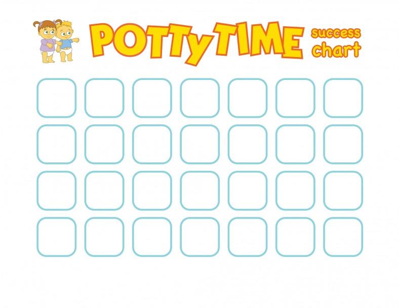 potty chart printable