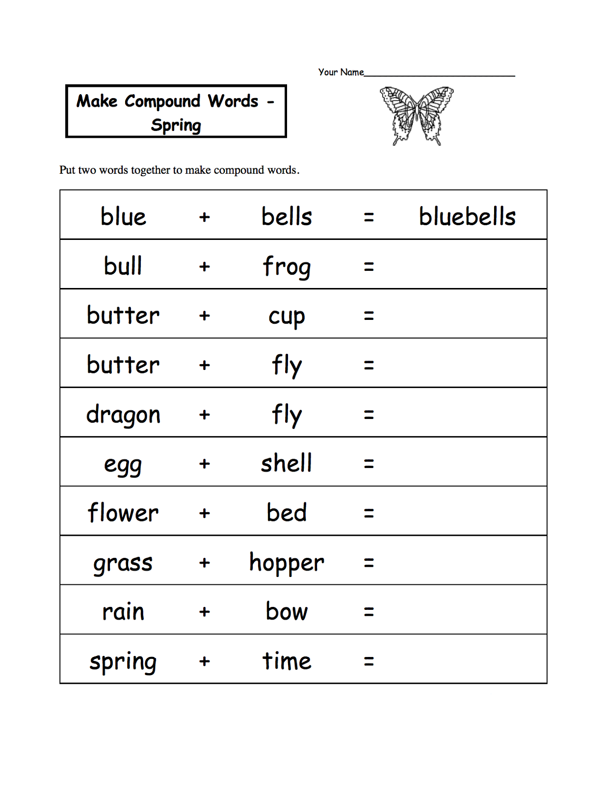 Printable Activity Sheets For Kids on Syllable Worksheets For Kindergarten