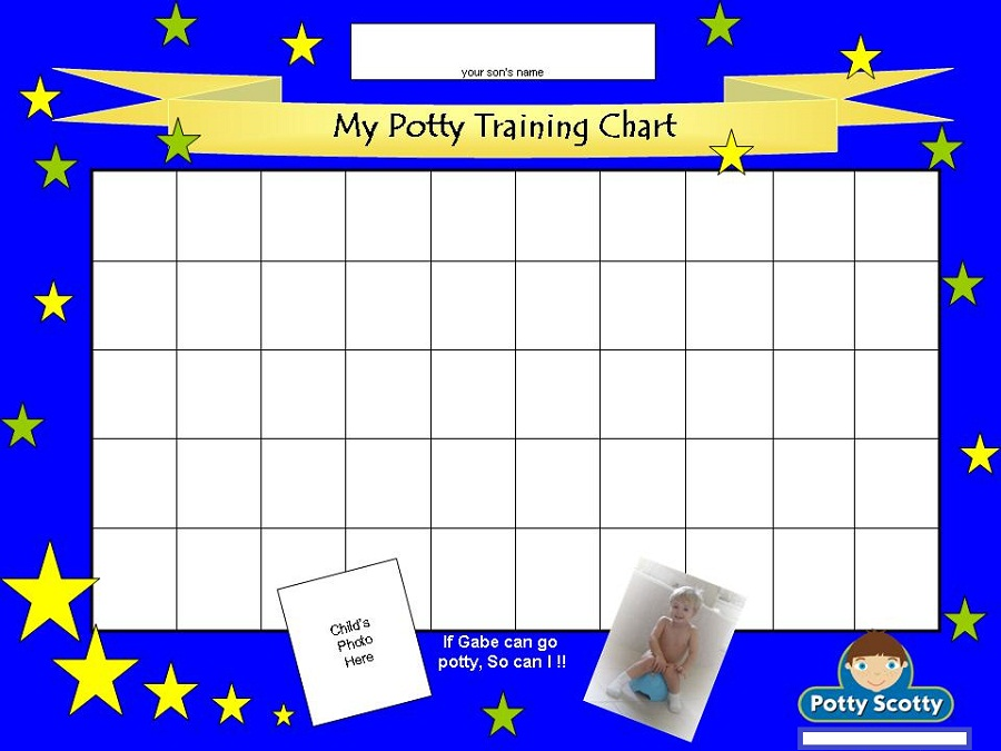 printable potty chart blue