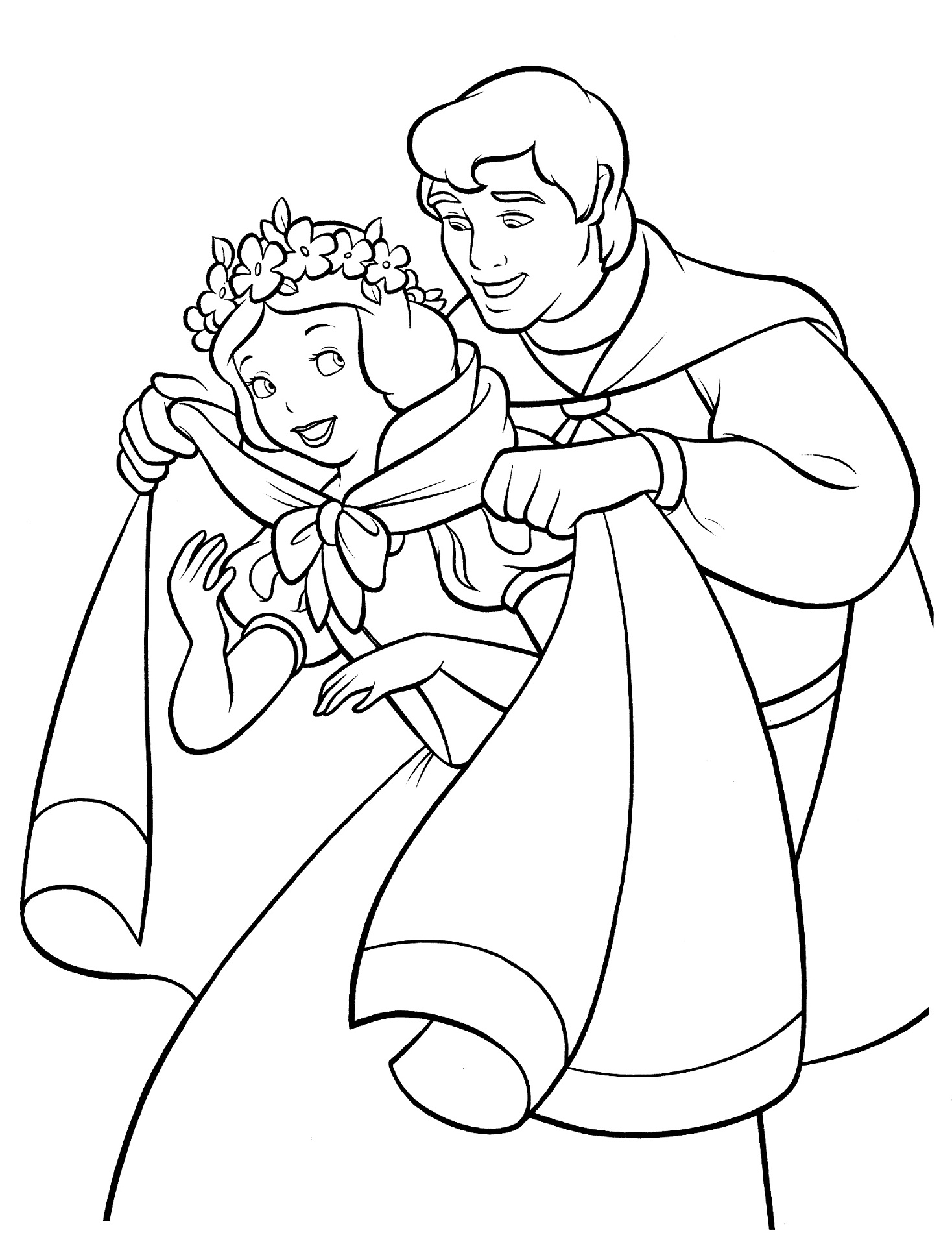Snow White Color Pages to Print | Activity Shelter