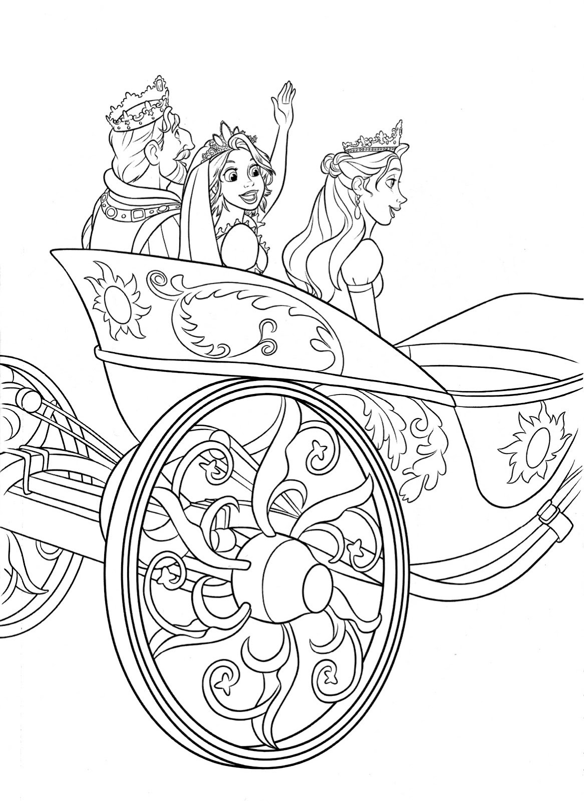 printable rapunzel coloring pages - tangled coloring pages printable activity shelter