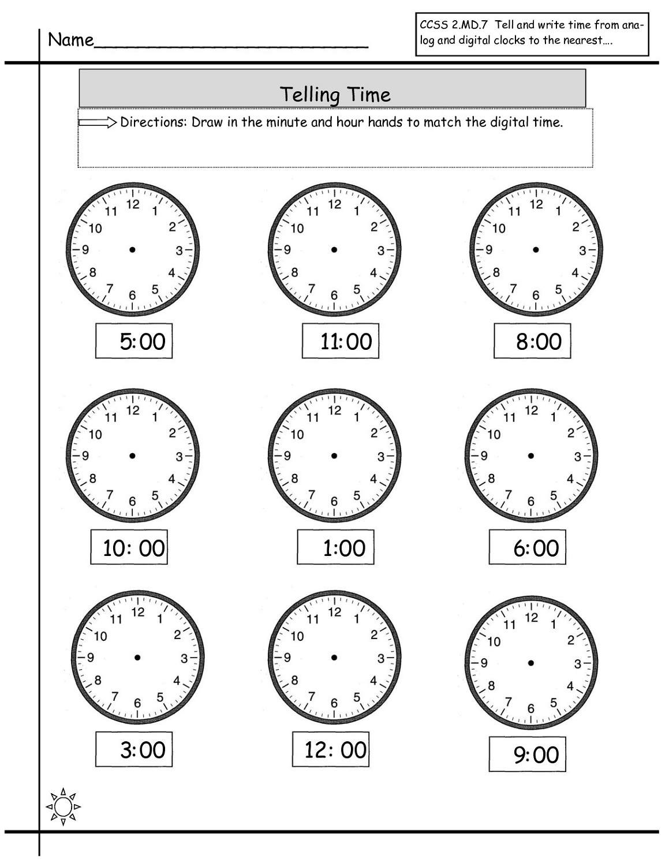 time elapsed worksheets 2016