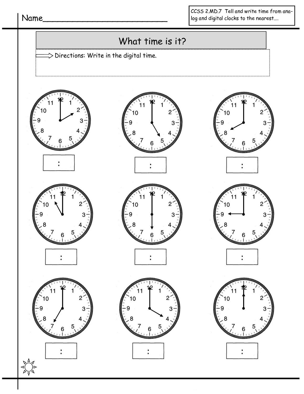 time elapsed worksheets for school