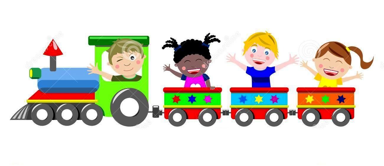 train kids happy
