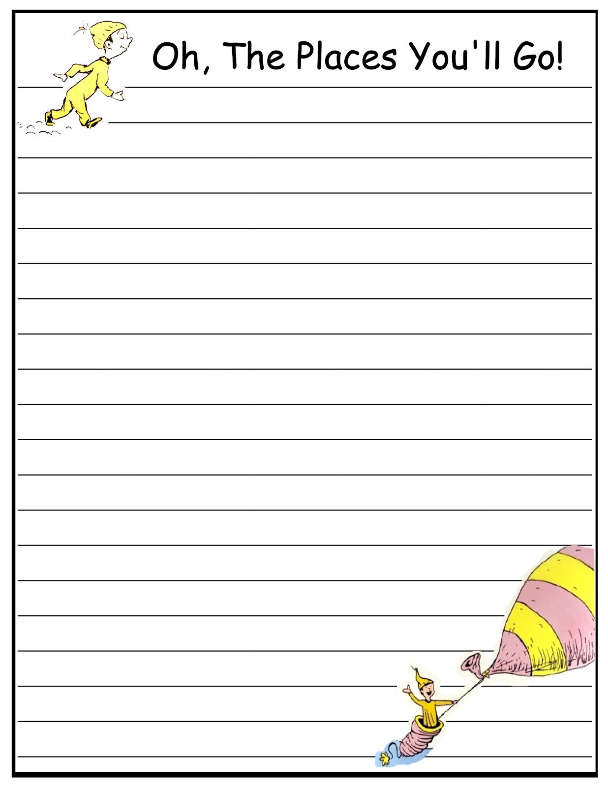 writing paper printable free