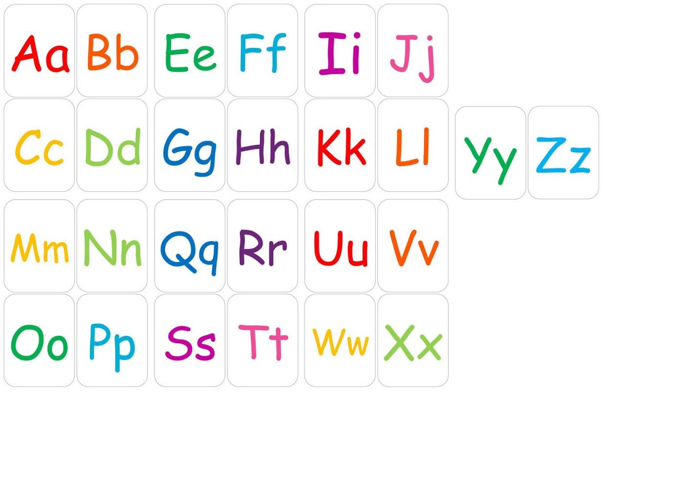 abc printables alphabet