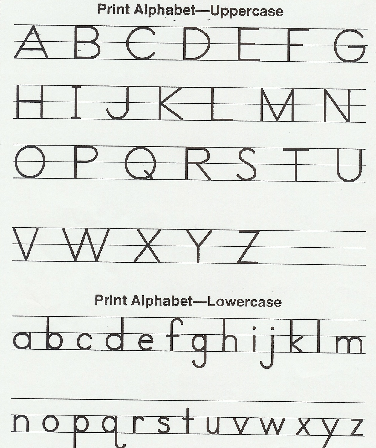 alphabet printables for kids