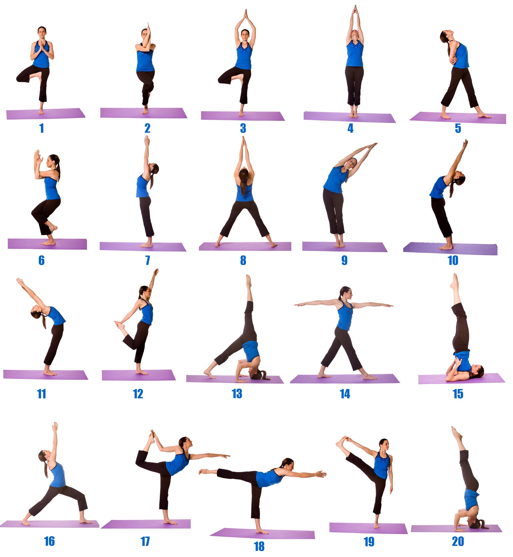 asanas yoga simple