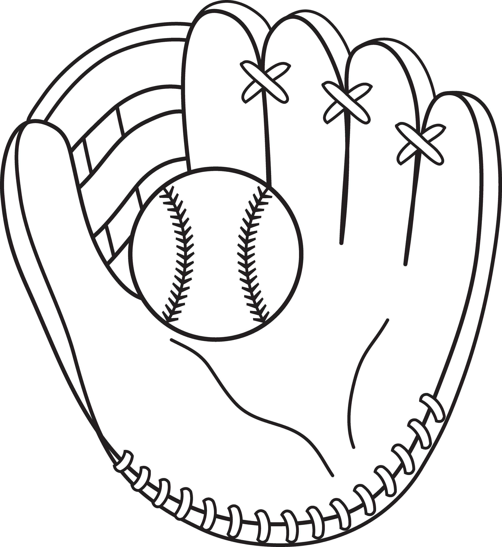 Baseball Color Pages for Children | Activity Shelter