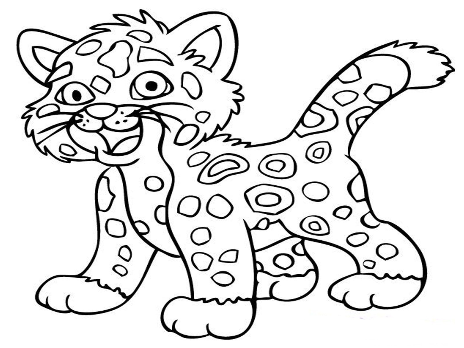 coloring pages printable tiger