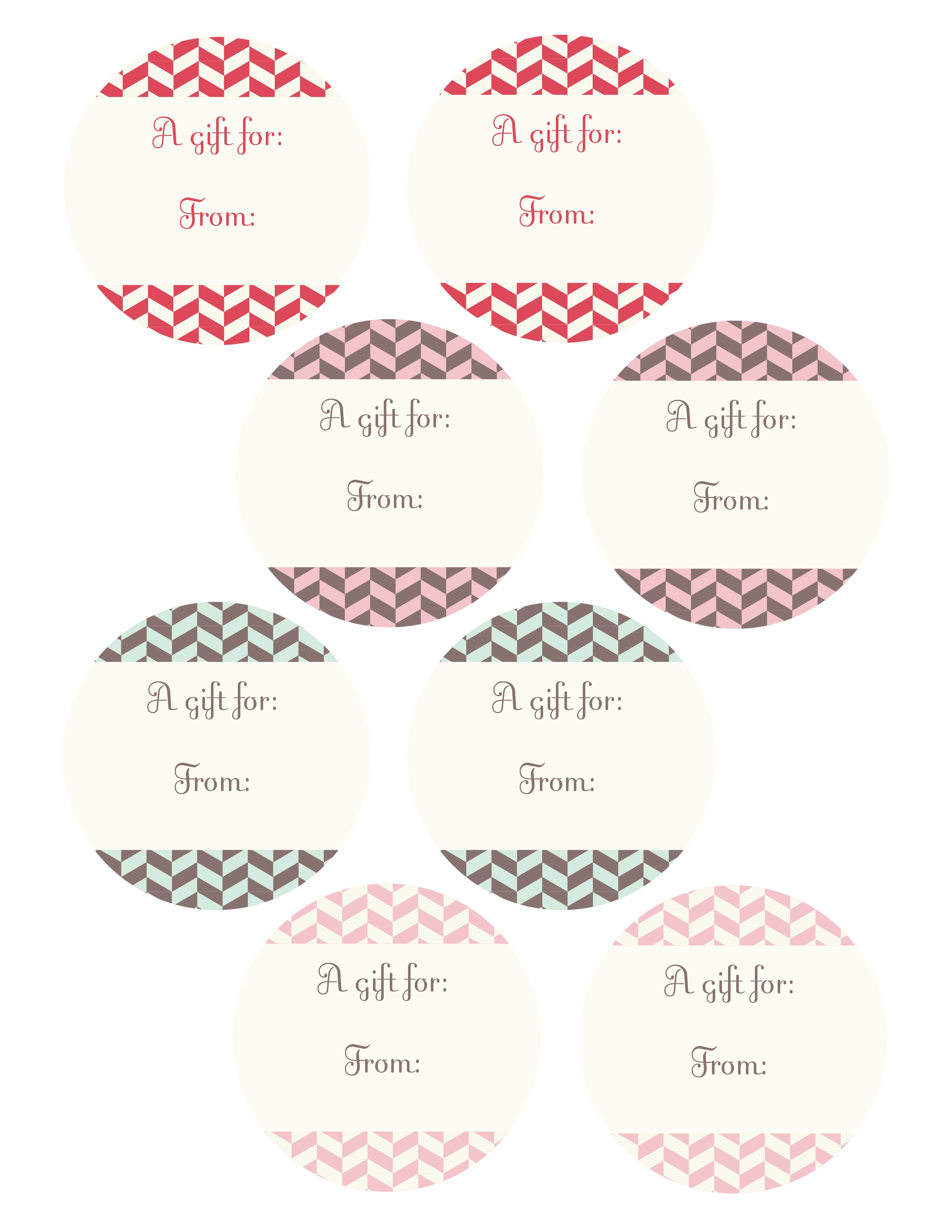 free printable gift tags best