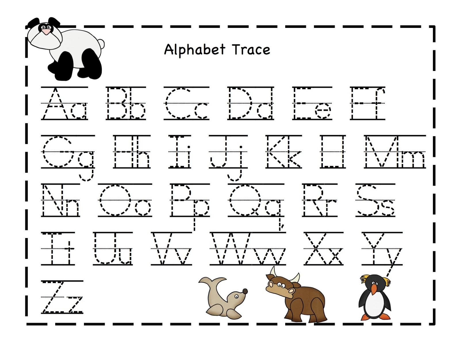 free printable letters for practice