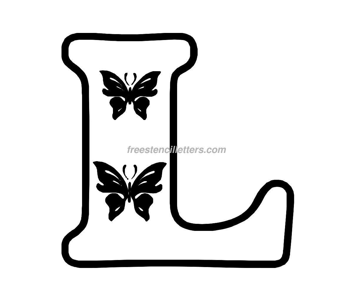 free printable letters letter L