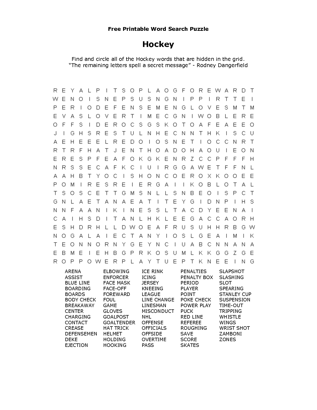 Free Printable Word Searches | Activity Shelter